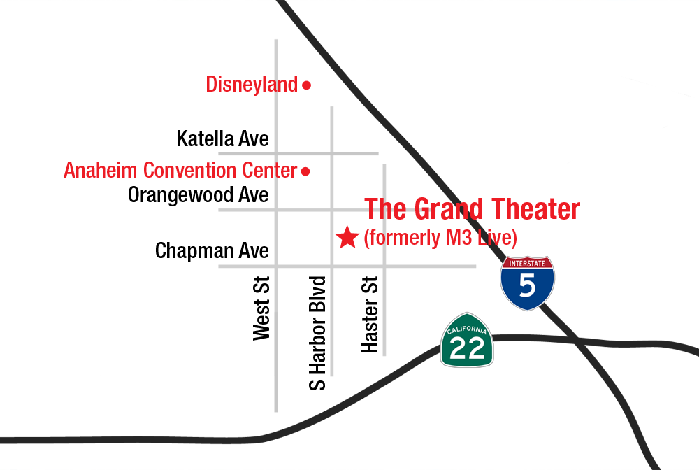 Street Map of The Grand Theater